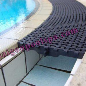 5 mẫu máng tràn bể bơi đẹp