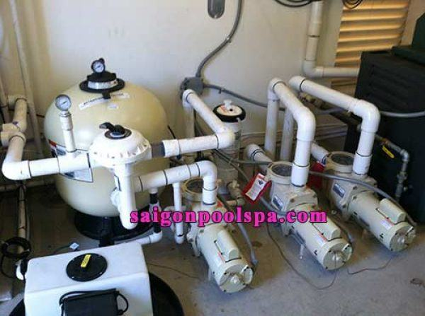 8 bước chọn hệ thống máy lọc nước bể bơi