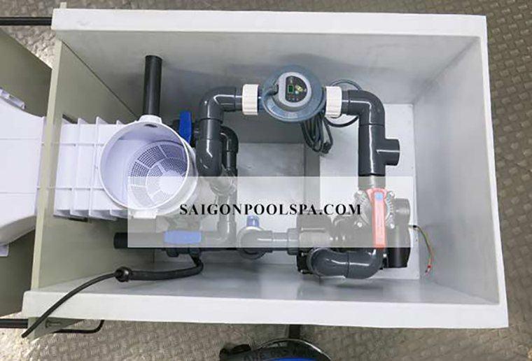 cấu tạo bên trong lọc nước thông minh
