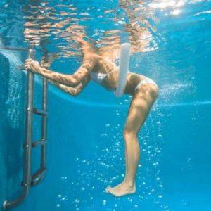 Cầu thang đẹp cho hồ bơi