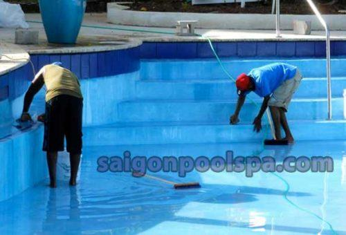Công ty xử lý nước hồ bơi