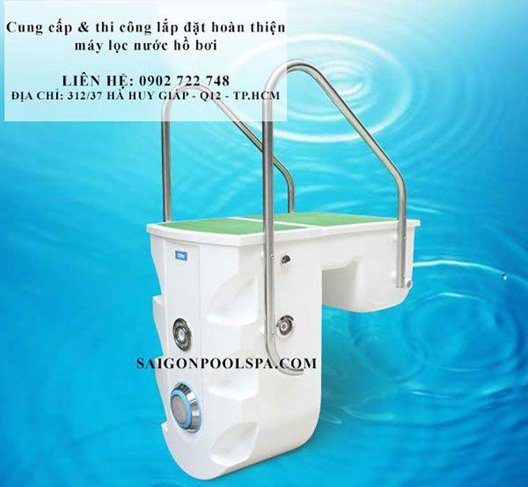 Cung cấp lắp đặt máy lọc nước bể bơi thông minh nhỏ gọn