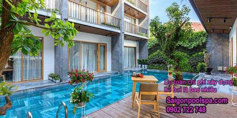 Dự Toán Chi Phí Xây Dựng Hồ Bơi Là Bao Nhiêu Tiền
