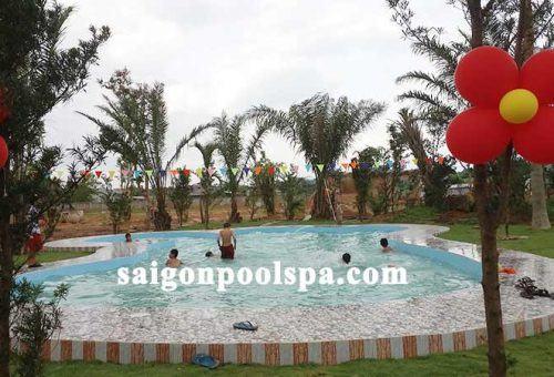 Hồ bơi trường học Đạ Tẻh Lâm Đồng
