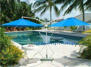 Mẫu thiết kế dù hồ bơi, bể bơi đẹp