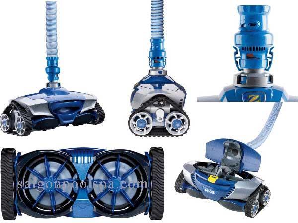 Robot làm sạch lau dọn vệ sinh hồ bơi Zodiac Mx8