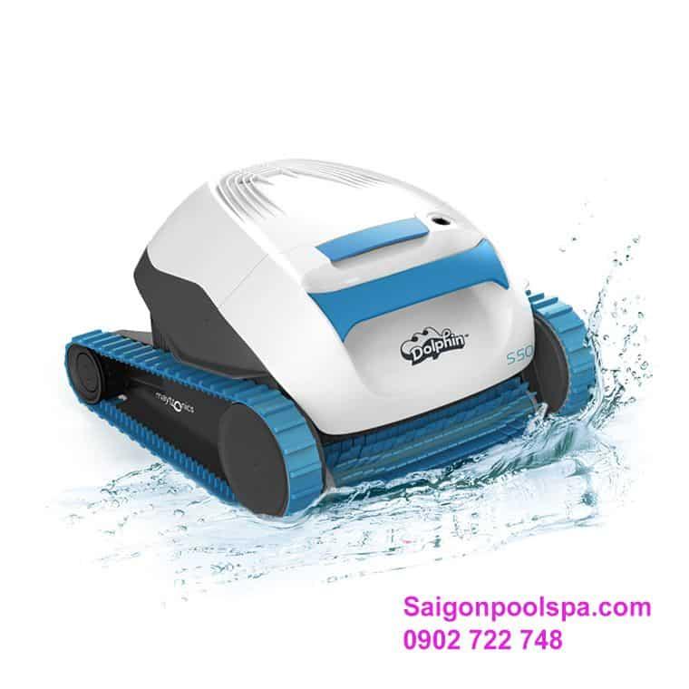 Robot Lau Hồ Bơi Dolphin