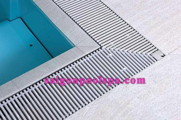 Thanh thoát tràn Bể bơi phân phối tại tphcm, Vũng Tàu, Nha Trang, Đà Nẵng, Quy Nhơn...