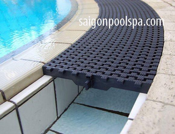 thanh thoát tràn Bể bơi