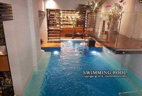 Thi công hồ bơi tại số 1 nguyễn thành ý quận 1