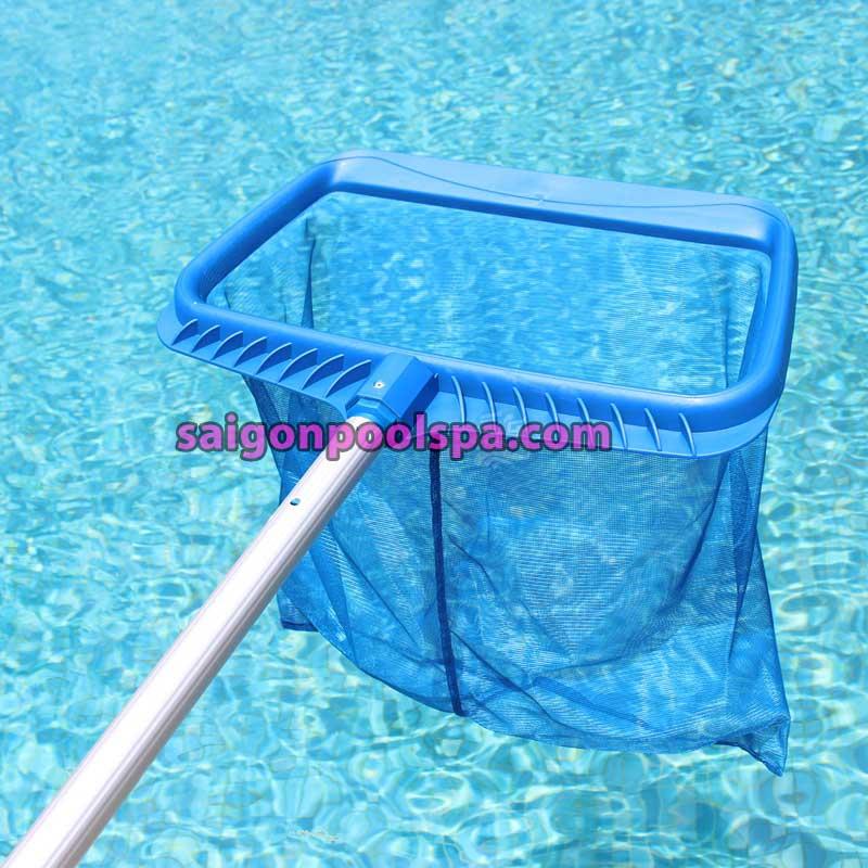 Vợt vớt rác cho hồ bơi