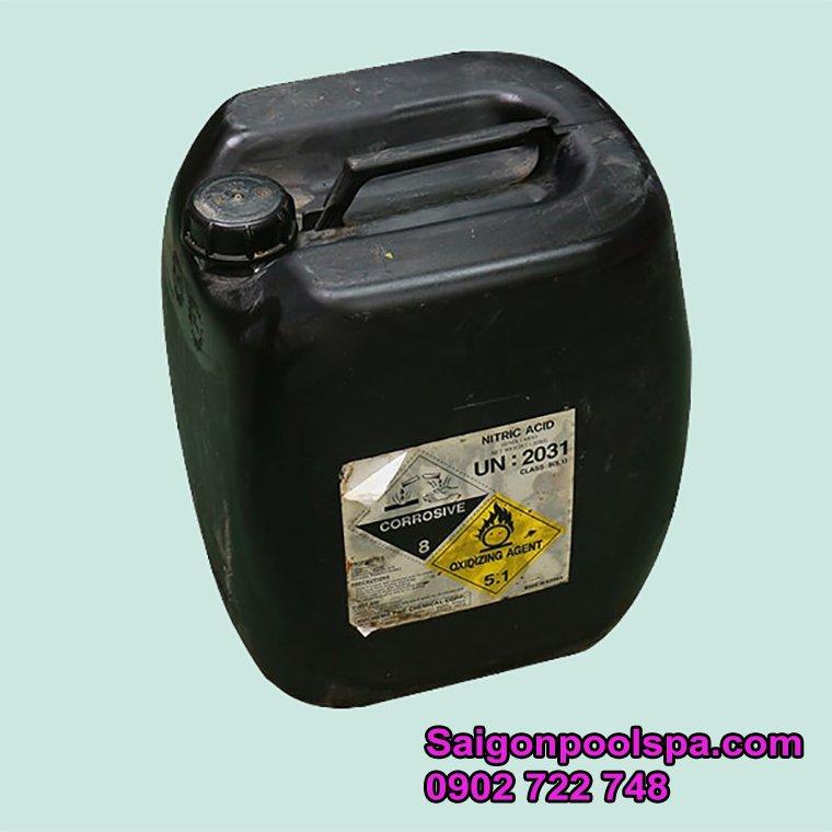 axit chuyên dùng xử lý