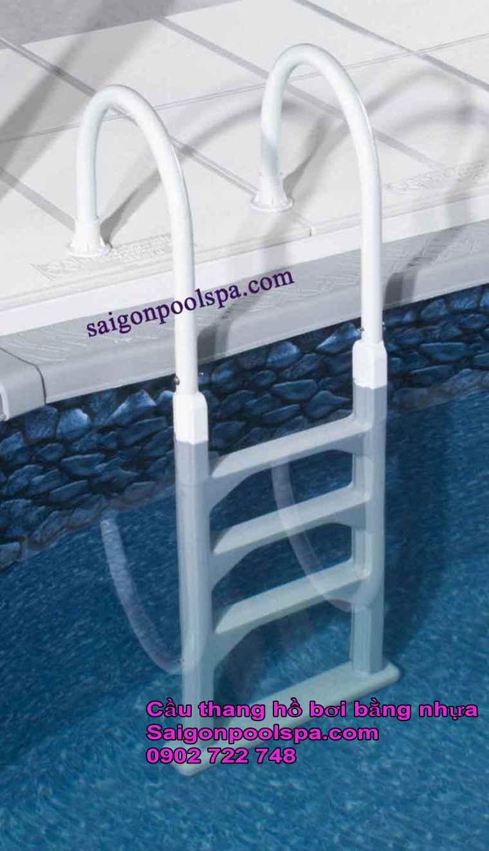 Cầu Thang Nhựa Hồ Bơi