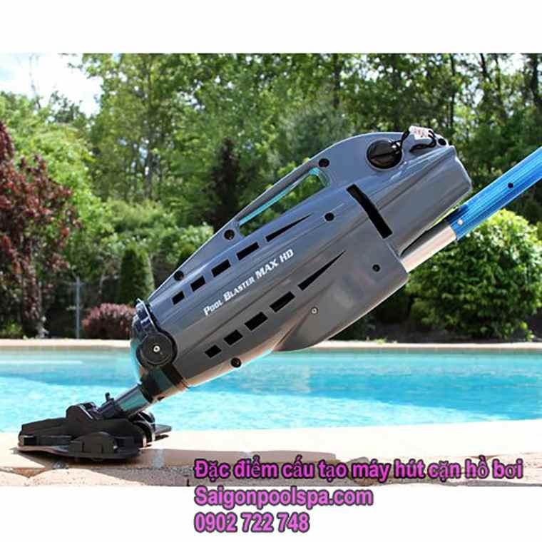 đặc điểm Cấu Tạo Máy Hút Cặn Hồ Bơi